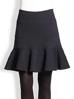Akris Punto - Flared Jersey Skirt