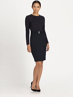 Akris Punto - Belted Knit Dress