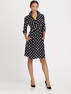 Akris Punto - Silk Polka Dot Dress
