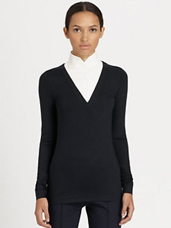 Akris Punto - Shirt-Collar Sweater