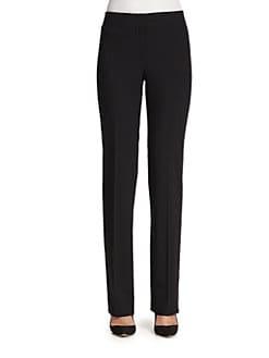 Akris Punto - Straight-Leg Wool Pants