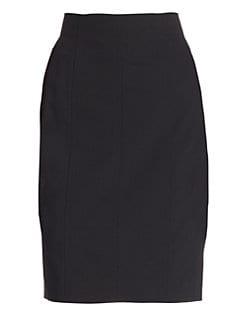 Akris Punto - Essentials Wool Pencil Skirt