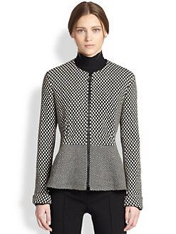 Akris Punto - Peplum-Back Wool Jacket