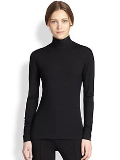 Akris Punto - Mock-Neck Jersey Top