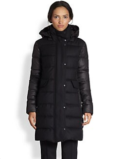 Akris Punto - Quilted Down-Filled Wool Coat