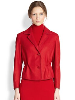 Akris Punto - Cropped Wool Jacket