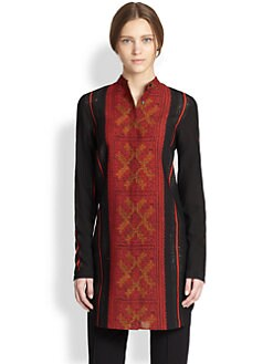 Akris Punto - Cross-Stitch Print Tunic