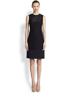 Akris Punto - Lace-Front Dress