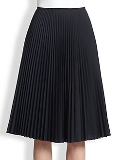 Akris Punto - Pleated Midi Skirt