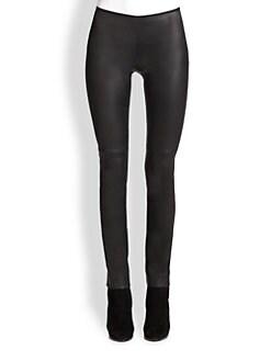 Akris Punto - Leather & Jersey Leggings