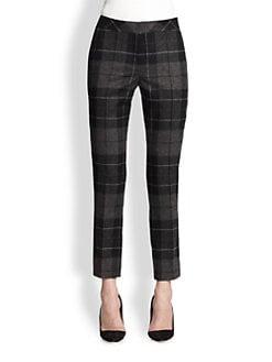 Akris Punto - Wool Flannel Frankie Ankle Pants
