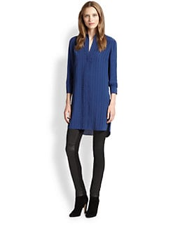 Akris Punto - Silk Punto Dot-Appliqué Tunic