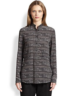 Akris Punto - Silk Ski Lift Print Blouse
