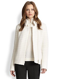 Akris Punto - Wool & Cashmere Knit Jacket