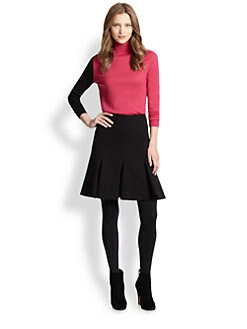 Akris Punto - Wool Colorblock Turtleneck