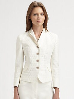 Akris Punto - Grosgrain-Trimmed Jacket