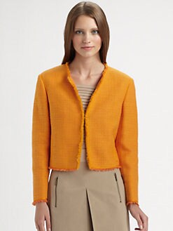 Akris Punto - Cropped Tweed Jacket