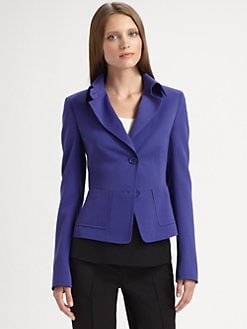 Akris Punto - Wool Gabardine Jacket