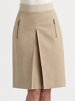 Akris Punto - Inverted Pleat Skirt