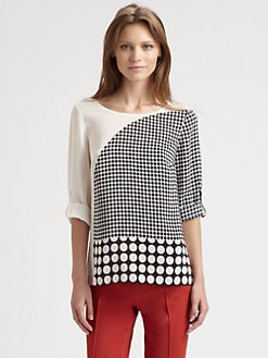 Akris Punto - Silk Dot Blouse