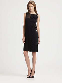 Akris Punto - Laser-Cut Frill Dress