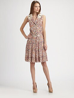 Akris Punto - Confetti Print Dress