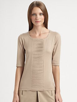 Akris Punto - Tiered-Panel Top