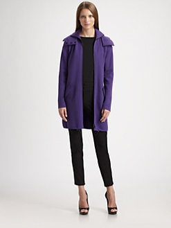 Akris Punto - Hooded Wool Cardigan Jacket