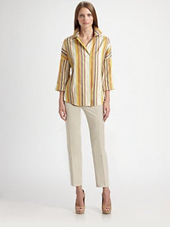 Akris Punto - Silk Striped Tunic