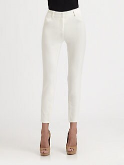 Akris Punto - Maggie Cropped Jersey Jeans