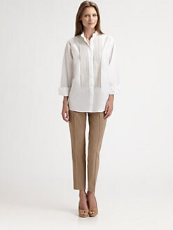 Akris Punto - Grosgrain-Trimmed Blouse