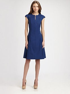 Akris Punto - Zip-Front Dress