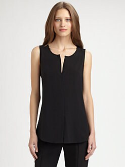 Akris Punto - Sleeveless Silk Blouse