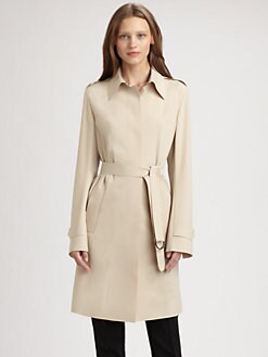 Akris Punto - Laser Cut Trench