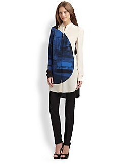 Akris Punto - Silk Focus Print Tunic