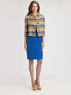 Akris Punto - Multi-Stripe Jacket