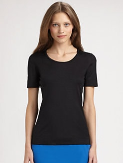 Akris Punto - Stretch Jersey Top