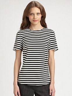 Akris Punto - Striped Silk Top