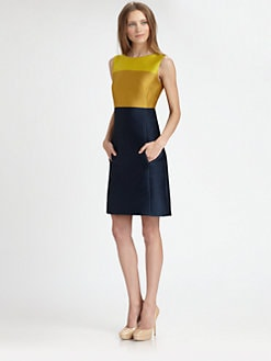 Akris Punto - Colorblock Dress