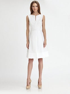 Akris Punto - Belted Pique Dress