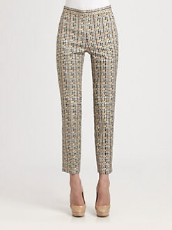 Akris Punto - Facade Print Franca Pants