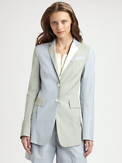 Akris Punto - Colorblock Blazer