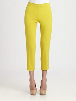 Akris Punto - Cropped Arched Yoke Pants