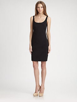 Akris Punto - Scoopneck Dress