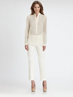 Akris Punto - Lace Tunic Blouse