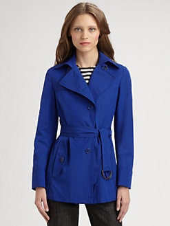 Akris Punto - Belted Car Coat