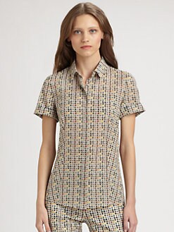 Akris Punto - Facade Print Blouse
