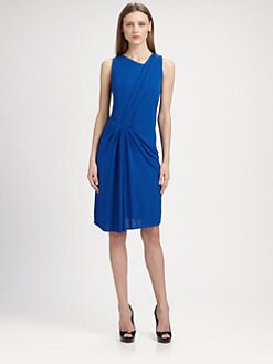Akris Punto - Jersey Side-Drape Dress