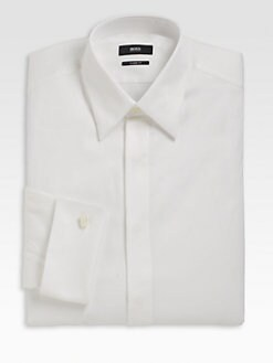 BOSS Black - Laurence Cotton Dress Shirt