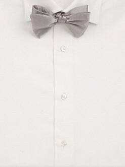 Carrot & Gibbs - Pre-Tied Silk Bow Tie